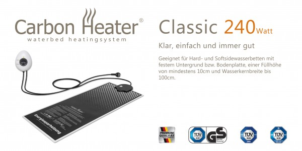 Carbon Heater classic 240W