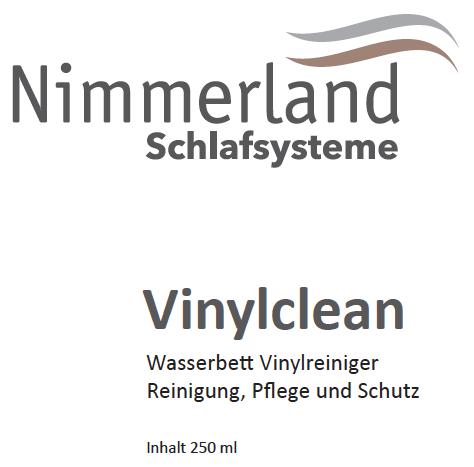 Nimmerland Schlafsysteme - Vinylclean Wasserbett Vinylreiniger, 250ml