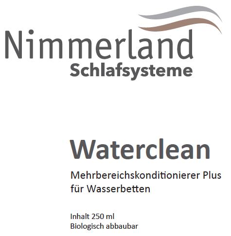 Nimmerland Schlafsysteme - Waterclean Mehrbereichskonditionierer Plus für Wasserbetten, 250ml