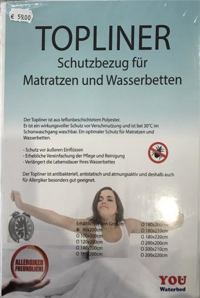 TOPLINER - Schutzbezug für Matratzen und Wasserbetten